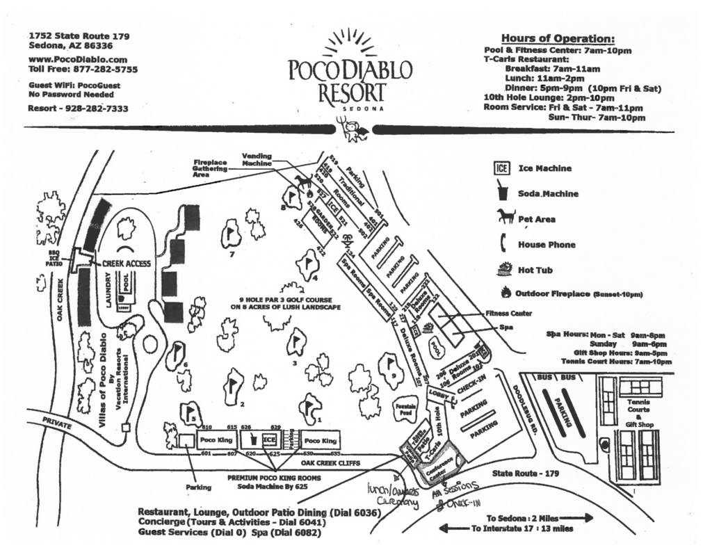 resort map-1